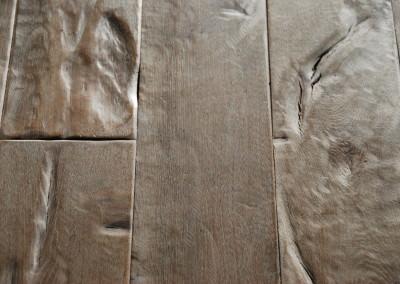 eiken houten vloer handmatig verouderd