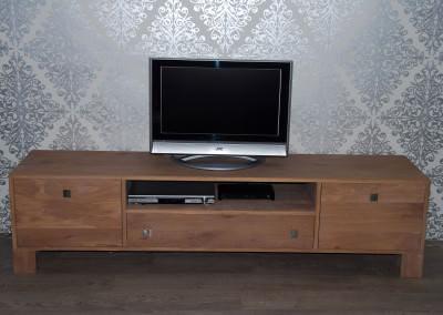 handgemaakte tv meubel met lades