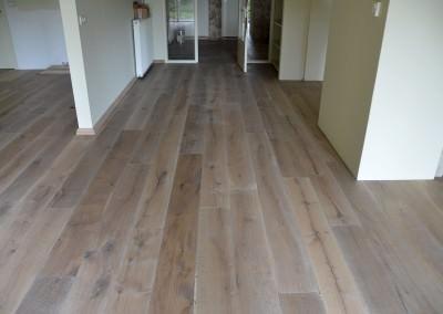 massieve vloer eiken hout
